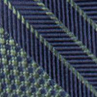 Men: Saddlebred Accessories: Green Saddlebred George Stripe Tie
