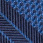 Men: Saddlebred Accessories: Blue Saddlebred George Stripe Tie