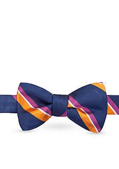 Saddlebred Pre-Tied Hico Wider Stripe Bow Tie