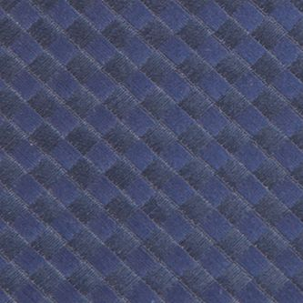 Necktie: Navy Saddlebred Extra Long Derby Basket Weave Tie
