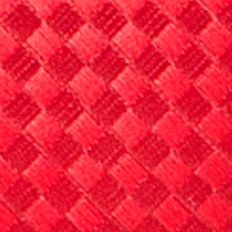 Necktie: Red Saddlebred Extra Long Derby Basket Weave Tie