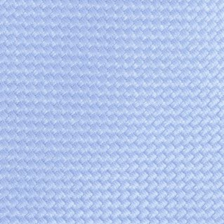 Necktie: Light Blue Saddlebred Extra Long Derby Natte Tie