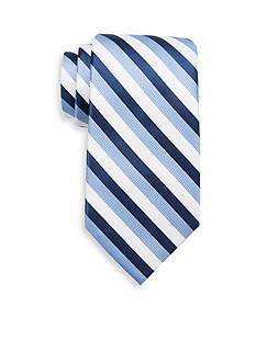 Saddlebred Kildeer White Stripe Tie