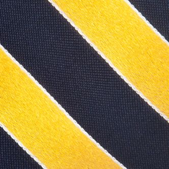 Men: Regular Sale: Yellow Saddlebred Blazer Stripe Tie