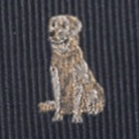 Young Men: Saddlebred Accessories: Black Saddlebred Donovan Dog Tie