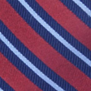 Men: Regular Sale: Red Saddlebred® Darby Striped Tie
