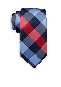 Saddlebred Sandbord Checked Tie