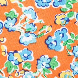 Men: Bow Ties Sale: Orange Saddlebred Self-Tie Savage Floral Bow-Tie