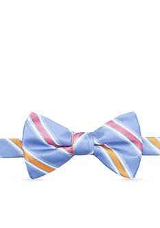 Saddlebred Pre-Tied Salty Stripe Bow-Tie