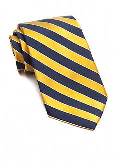 Saddlebred Extra Long Salem Navy Stripe Tie
