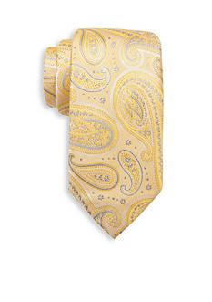 Saddlebred Extra Long Joaquin Paisley Print Tie