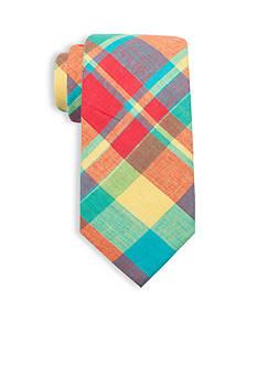 Saddlebred Anderson Cotton Plaid Tie
