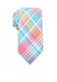 Saddlebred Aidan Cotton Plaid Tie