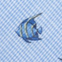 Men: Neckties Sale: Blue Saddlebred Guppy Fish Tie