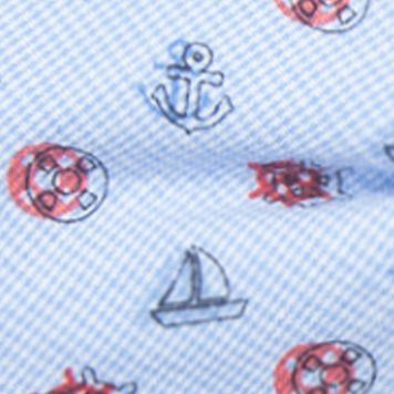 Men: Bow Ties Sale: Red Saddlebred Pre-Tied Nautical Novelty Bow Tie