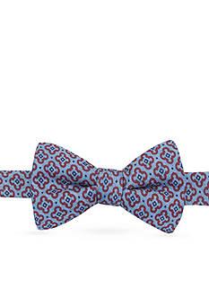 Saddlebred Pre-Tied Hye Denim Neat Bow Tie