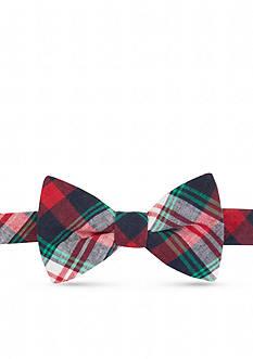 Saddlebred Dogwood Plaid Bow Tie