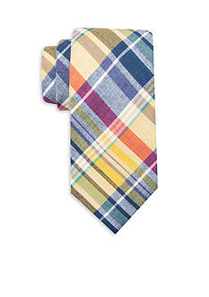 Saddlebred Extra Long Alex Plaid Tie