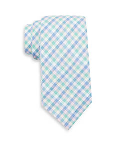 Saddlebred Extra Long Ardell Plaid Tie