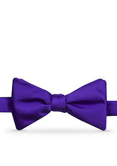 Saddlebred Satin Solid Bow Tie