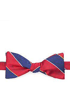 Saddlebred Stripe Bow Tie