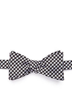 Saddlebred Bear Houndstooth Bow Tie