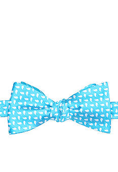 Saddlebred Reversible Pine Stripe Bow Tie