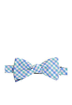 Saddlebred Gingham Bow Tie
