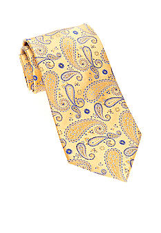 Saddlebred Big & Tall Satin Paisley Tie