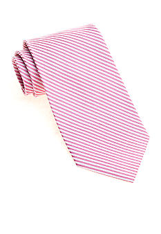 Saddlebred Big & Tall Seersucker Stripe Tie