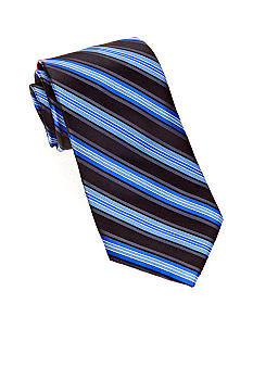 Saddlebred Big & Tall Satin Stripe Tie
