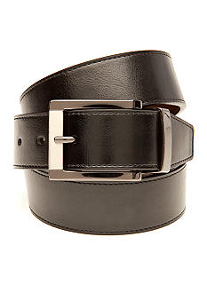 Saddlebred Leather Reversible Dress Belt