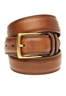 Saddlebred 34mm Brown Leather Double Keeper Belt