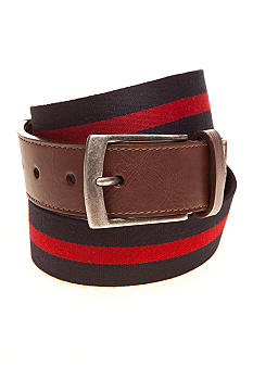 Saddlebred Fabric Multi Stripe Belt
