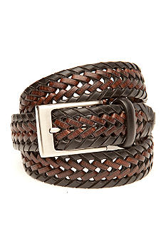 Saddlebred 30mm Two Tone Braided Belt
