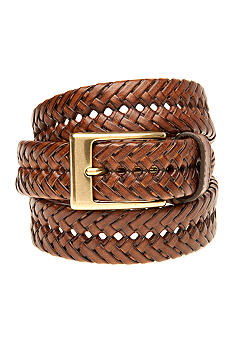 Saddlebred® Big & Tall Tan Braided Belt