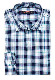 Ben Sherman Plaid Dress Shirt
