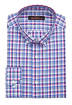 Ben Sherman Slim Fit Kings Check Dress Shirt