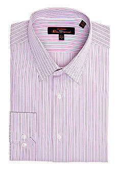 Ben Sherman Slim Fit Kings Striped Dress Shirt