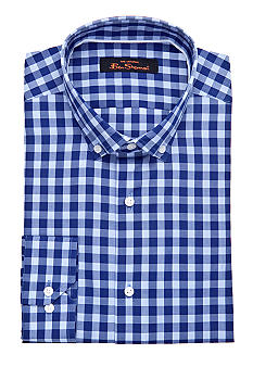 Ben Sherman Slim Fit Bond Check Dress Shirt