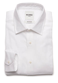 Ben Sherman Slim Fit Solid Dress Shirt