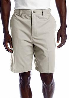Geoffrey Beene Flat Front Twill Shorts