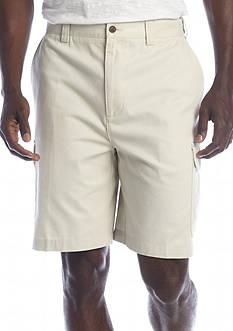 Geoffrey Beene 9-in. Flat Front Cargo Shorts