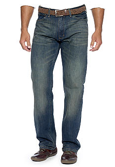 Nautica Jeans Company Relaxed Cross Hatch Jeans