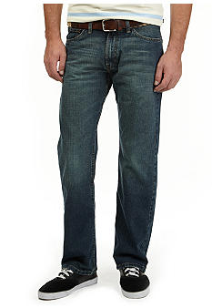 Nautica Jeans Company Medium Wash Loose Fit Hatch Jeans