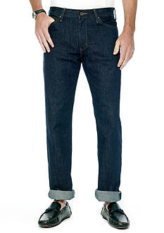 Nautica Jeans Company Straight Fit Dark Rinse Jeans