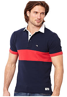 Nautica Jeans Company Pieced Polo Knit