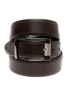 Geoffrey Beene Men's Leather Reversible Dress Belt