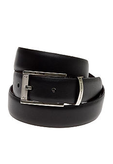 Geoffrey Beene Men's Soft Touch Feather Reversible Dress Belt