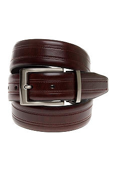Geoffrey Beene Men's Double Stitch Reversible Dress Belt